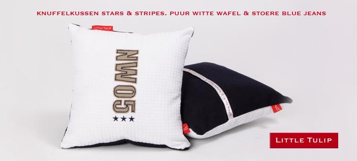 Stars & Stripes kleine kussens voor de kinderkamer